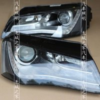 audi headlight assembly - Hella three pairs of optical lens headlight assembly scrap pieces of Audi A8 modified three generations of German HELLA European standard le