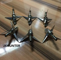 Wholesale 6 pieces archery hunting Ramcat Broadheads grain blades arrowhead for bow and arrow hunting