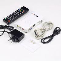 Cheap 1set Digital TV Box LCD CRT VGA AV Stick Tuner Box View Receiver Converter Hot Worldwide
