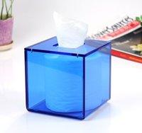 acrylic drawing box - Product Asahi acrylic tissue box cute creative fashion European luxury hotel household paper draw a square box