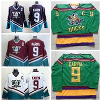 anaheim - High Quality CCM Anaheim Ducks Jersey Paul Kariya Purple Hockey Jersey Stitched Name Number and Logos Mix Order