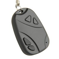 Wholesale Brand New Mini DVR Camcorder Car Key Chain Video Recorder Spy Hidden Pinhole Camera Fast Shipping