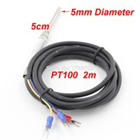 Wholesale The Black WireThermocouple PT100 m Thermocouple in Stock