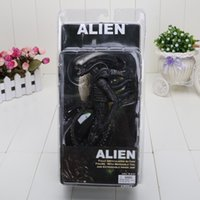 arrival finishes - 7 Retail Fashion New Arrival NECA Official Movie Classic Original Alien Action Figure Toy Doll