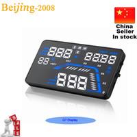 alarm number - 2015 Newest Q7 Universal GPS Car HUD Head Up Display Q7 inch Speed Alarm Time Satellite Number Altitude Projector Head Up Display