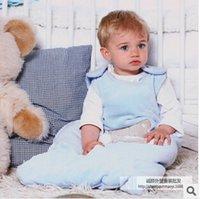 Cheap New baby toddler sleeping bag lovely animal pattern cotton sleeveless sleeppack spring autumn pajamas