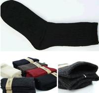 Cheap Winter Men's Army Warm Socks Long Knee High Military Sock Thermal Wool Size 9-11