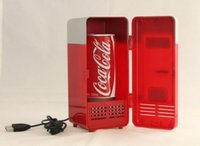 Wholesale USB mini fridge usb heating and refrigerator lazy students dormitory dormitory artifact summer summer essential supplies