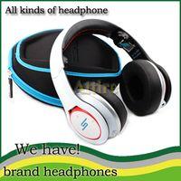 Wholesale SMS Audio Wireless Bluetooth Wireless SMS DJ Headphone SMS Audio Street Over Ear Headphone Headset SMS Audio SMS by Cent DHL Free