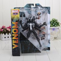 amazing figures - 21cm DST Select The Amazing Spider man Venom PVC Spiderman Action Figure Collcetion Model Toy Gifts