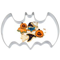 bat cookie cutter - 1PCS Bat Metal Home DIY Cookie Tools Cutter Stainless Steel Kitchen Biscuit Stamp Chocolate Cake Fondant Molds