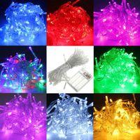 Wholesale Chrismas light M Battery Powered LED Starry Fairy String Light Lamp for Wedding Xmas Party LEG_068