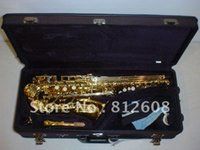 Wholesale best Newest beautiful YAS Professional Alto Saxophone Sax w case hot Alto Saxophone PLAYS GREAT in stock