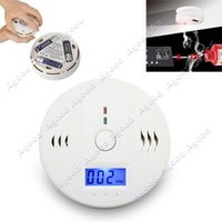 Wholesale New CO Carbon Monoxide Poisoning Smoke Gas Sensor Warning Alarm Detector Tester LCD