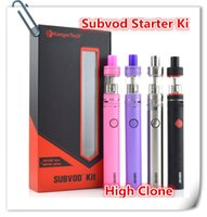 Wholesale Kanger Subvod Starter Kit with Clone W Mod mah battery Toptank Nano Atomizer and SSOCC Coil ohm vs kanger subox mini