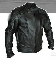 Wholesale Men in Europe and the new outdoor overalls fall clothing motorcycle engine proof clothes leather jacket M xl