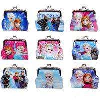 cheap wholesale purses - Frozen baby girls Coin Purses kids wallet chilldren s wallet princess Elsa Anna money bag party supplies Cheap Coin Purses Kids Wallet