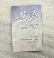 Wholesale 2015 book Style Lessons in Clarity and Grace