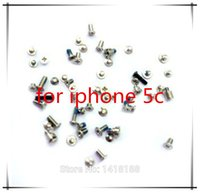 Wholesale NEW OEM Complete Replacement Repair Screws Complete Set For iPhone C