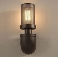 retro american country iron art wall light rh loft antique color wall sconce e27 edison lighting outdoor indoor industrial lamp cheap industrial lighting