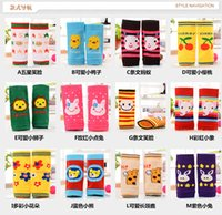 arm warmers pattern - 12styles Kids Safety Crawling Knee Pads Infants cartoon animal pattern Leg Warmers Toddlers cotton arm warmer protector cute
