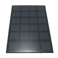 Wholesale Hot Sale DIY Polycrystalline V W Stored Energy Power Solar Panel Module System Solar Cells Charger x12x0 cm