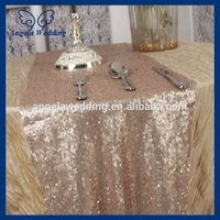 Wholesale RU009A1 hot sale Angela weddding sequence champagne sequin table runner
