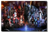 american mass - Mass Effect Classic Fashion Movie Style Custom Poster Print Size x60 cm Wall Sticker