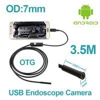 Wholesale Micro USB M inspectiAndroid Phone Endoscope OTG mm lens on Pipe Camera IP67 Waterproof micro USB endoscope Camera Car Repairing Tools