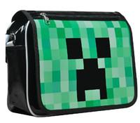 Minecraft Creeper zaino gioco della borsa Anime Shoulder Bag PU Waterpr dello zaino Minecraft JJ Strano Uomini Messenger Bag