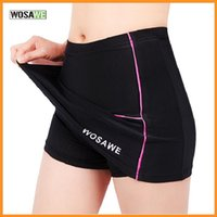 Wholesale Brand New WOSAWE Mini Skirt Spring Summer Outdoor Sports Shorts Cycling Divided Skirts Bike Silica Gel BC176