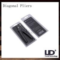 Youde UD diagonales Alicates para la bobina del alambre del cable del cortador de corte para electrónica cigartte original del 100%