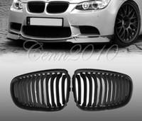 Wholesale Matt Black Front Kidney Grill Grilles for BMW E46 door D Series