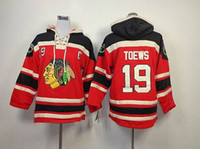 Wholesale Newest Kids Hockey Hoodies Blackhawks Jonathan Toews Hoodie Brand Ice Hockey Hoody Youth Sweaters Red Children Hockey Coats Winter Wears
