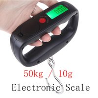 Wholesale 50kg g Digital weighing scale Electronic Hanging Luggage Balance Weight Drop Shipping hot