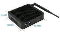 Wholesale HCIPC B101 HCSJ18NA Intel RJ1800 Dual core CPU VGA HDMI SO DIMM DDR3 Max GB DC V Power supply Giga LAN