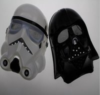 Wholesale Hot sale New Halloween Festival horror mask Star Wars the Darth vader mask black and white color