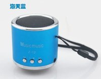 Wholesale Z12 mini app TF phone card play portable speaker subwoofer usb stereo radio package mail