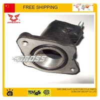 Wholesale JH125L ZS125GY cc cc jialing zongshen MOTORCYCLE INTAKE PIPE MANIFOLDS RUBBER CARBURETOR CONNECTOR MOTORCYCLE ACCESSORIES order lt no