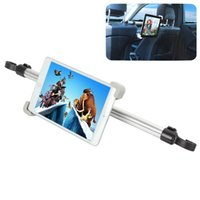 Wholesale Universal Car Mount Rear Headrest Holder Between Two Seats Degree Rotation for Inches Tablet CEC_946