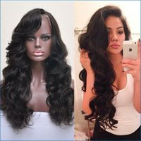 bang light - 150 Density Full Lace Human Hair peruvian Body Wave Lace Front Wig With hair bangs Human Hair lace Wigs