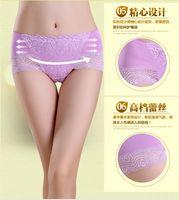 modal fabric - Ladies underwear non trace sexy lace briefs bamboo fiber is better than modal cotton fabrics pure cotton