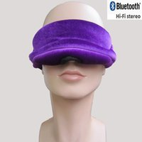 arrival sleep wear - 2016 new arrival eye mask with bluetooth for sleeping playing music answering phone for traveller on plane and train no light after wearing