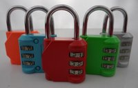 best travel clothes - best sale luggage combination lock Clothing padlock to travel abroad