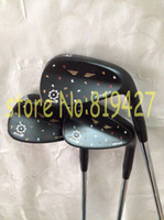 Wholesale 2015 New golf clubs Limited Vokey SM5 Wedges Black Silver Champagne SM5 golf wedges degree right hand
