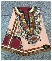 african styles clothing - Pink cotton African farbic super wax hollandais fabric Dashiki block prints Nigerian ankara style for clothing skirt women dresses