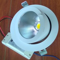 Wholesale LED COB ceiling lighting W AC100 V LM COB ceiling light for DHL
