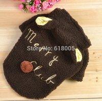 Wholesale Cute Sheep Warm Pet Dog Clothes Coat Apparel