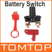 Wholesale Universal Car Truck Vehicle Battery Disconnect Cut Off Rotary Switch Brass Terminals Vehicle Tool