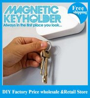 wall magnetic - TOP lot Creative cloud magnetic key holder novelty household item retail wholsale